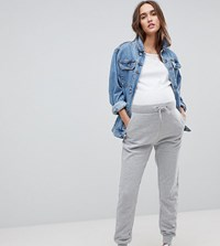 New Look Maternity Tapered Jogger Grey