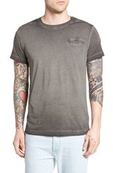 Dieselr Men's Diesel T Diego Jamy Burnout Pocket T Shirt Black