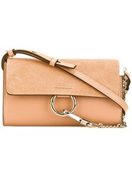 Chloe Faye Wallet On Strap Bag Women Calf Leather One Size Nude Neutrals