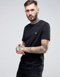 Original Penguin Small Logo T Shirt Slim Fit In Black Black