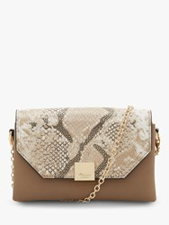 Dune Esterr Chain Strap Handbag Grey Multi