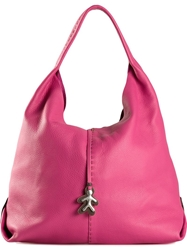 Henry Beguelin 'Happy' Tote Bag Pink And Purple