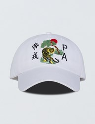 Profound Aesthetic Tiger Embroidery Cap