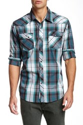 Micros Catastrophee Plaid Shirt Blue
