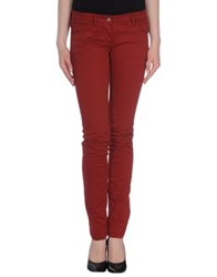 Vintage 55 Casual Pants Brick Red