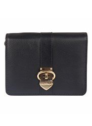 Dents Soft Leather Purse With Buckle Detail Black