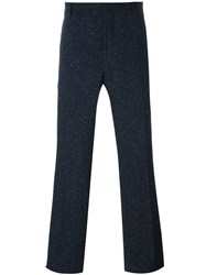 Carven Wide Tailored Trousers Blue