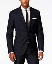 Bar Iii Men's Navy Slim Fit Jacket Only At Macy's