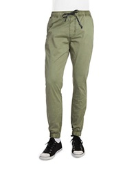 Hudson Jeans Elliot Drawstring Pants Army Green