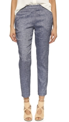 Theory Thaniel Terra Denim Trousers Deep Denim