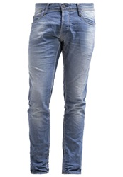 Japan Rags Slim Fit Jeans Blue Grey Denim