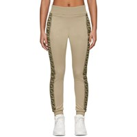 Fendi Beige Forever Lounge Pants