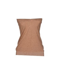 Jucca Tube Tops Camel