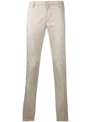 Dondup Low Rise Chinos Neutrals