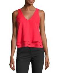 Parker Alejandra Layered V Neck Tank