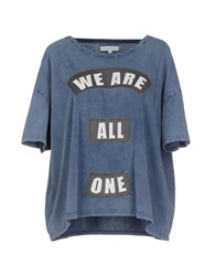 Each X Other T Shirts Slate Blue