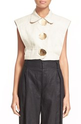 Women's Opening Ceremony 'Arden' Sleeveless Linen Top