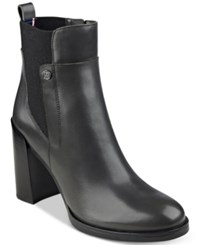 Tommy Hilfiger Britton Ankle Booties Women's Shoes Grey