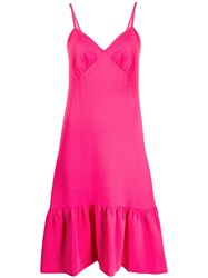 Michael Michael Kors Ruffled Hem Dress Pink