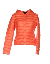 313 Tre Uno Tre Down Jackets Orange