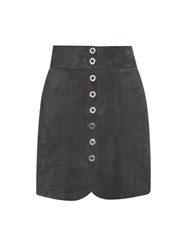 Lanvin Suede Mini Skirt