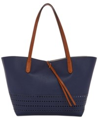 Splendid Key Biscayne Reversible Tote Navy