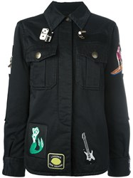 Marc Jacobs Paradise Embroidered Jacket Black