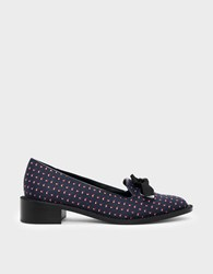 Charles And Keith Bow Detail Loafers Multi