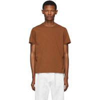 Rick Owens Brown Short Level T Shirt