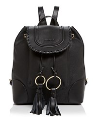 See By Chloe Polly Backpack Black Gold