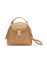 Folli Follie H4h Arch Small Camel Handbag Brown