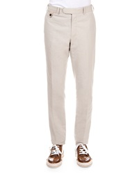 Berluti Fine Stripe Cotton Blend Trousers