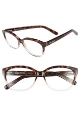 Bobbi Brown Women's 'The Mulbery' 54Mm Reading Glasses Havana Crystal