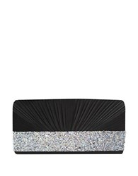 Sasha Pleated Clutch Black