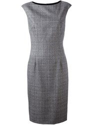 Les Copains Fitted Classic Dress Grey