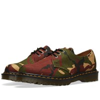 Dr. Martens 1461 Camo Shoe Made In England Green