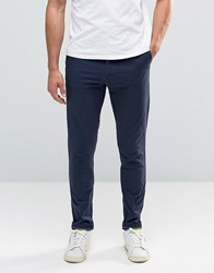 Jack And Jones Slim Fit Chino With Stretch Navy