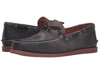 Sperry Gold A O 1 Eye Wedge Charcoal Brick Men's Moccasin Shoes Brown