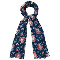 Cath Kidston Forest Bunch Scarf Navy Multi