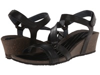 Teva Cabrillo Crossover Wedge Black Women's Sandals