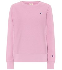 Champion Cotton Sweatshirt Pink
