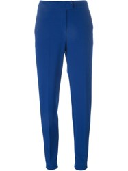 Armani Jeans Tapered Trousers Blue