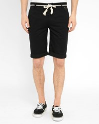 Eleven Paris Black Chuck Bermuda Shorts