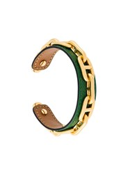 Hermes Herma S Vintage Anchor Cuff Green