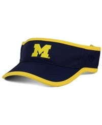 Top Of The World Michigan Wolverines Baked Visor Navy
