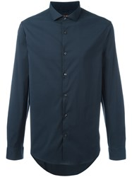 Michael Michael Kors Long Sleeve Shirt Blue
