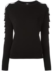 Versus Pinned Sweater Black