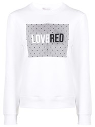 Red Valentino Lovered Print Sweatshirt 60