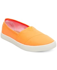 Madden Girl Madden Girl Sail Slip On Flats Women's Shoes Neon Orange