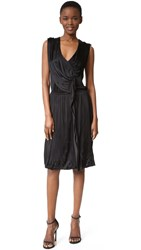 Wgaca Fendi Sleeveless Dress Previously Owned Black